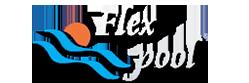 Flex Pool Logo Beyaz