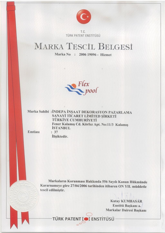 Flexpool Marka Tescil Belgesi